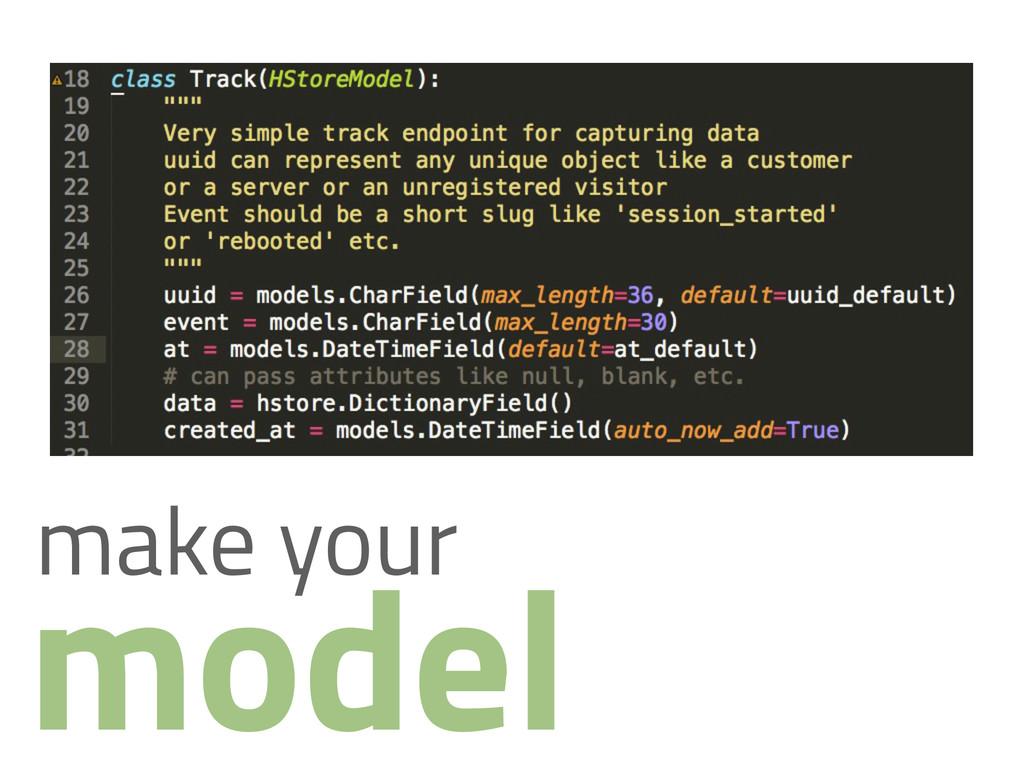 model make your
