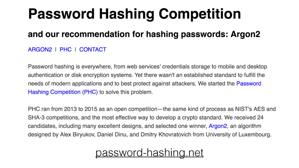 password-hashing.net