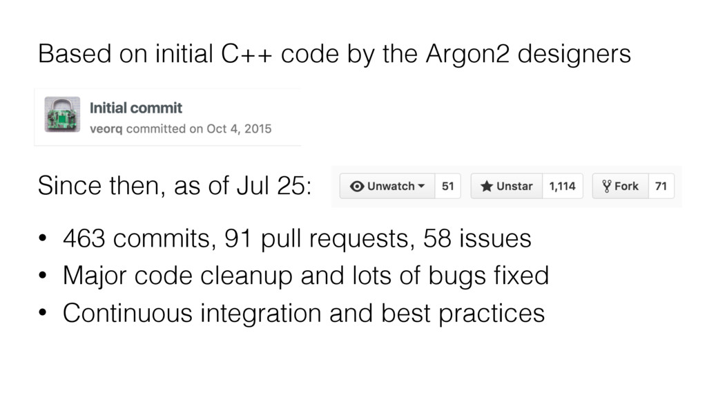 Based on initial C++ code by the Argon2 designe...