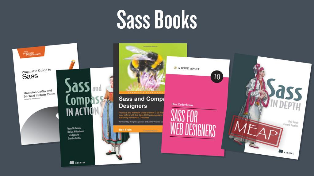 Sass Books