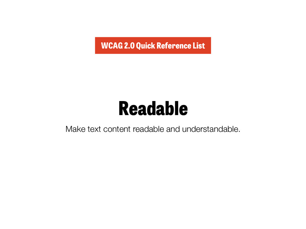 Readable Make text content readable and underst...