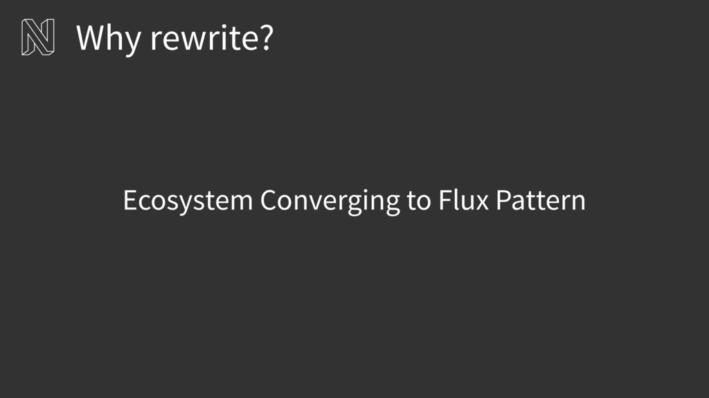 Ecosystem Converging to Flux Pattern Why rewrit...