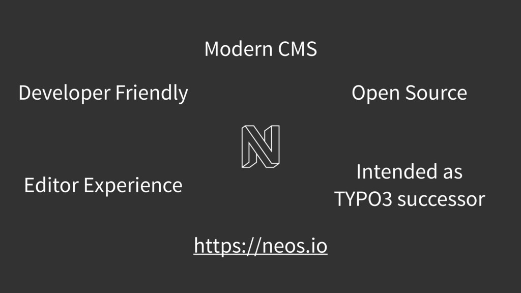 Open Source Modern CMS Intended as TYPO3 succes...