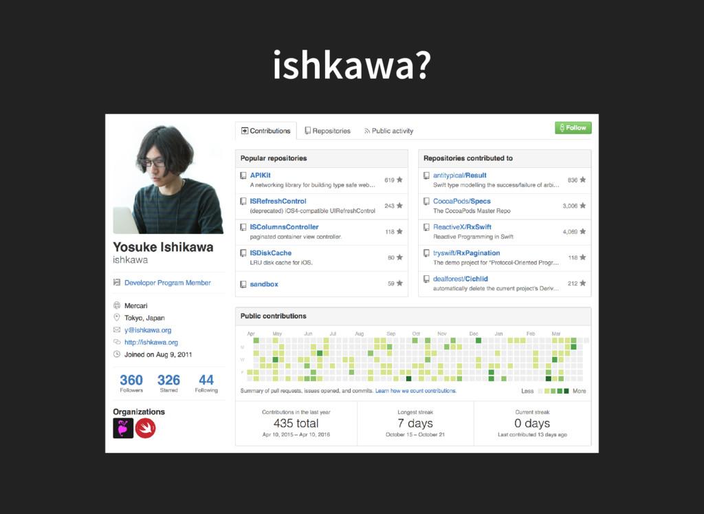 ishkawa?