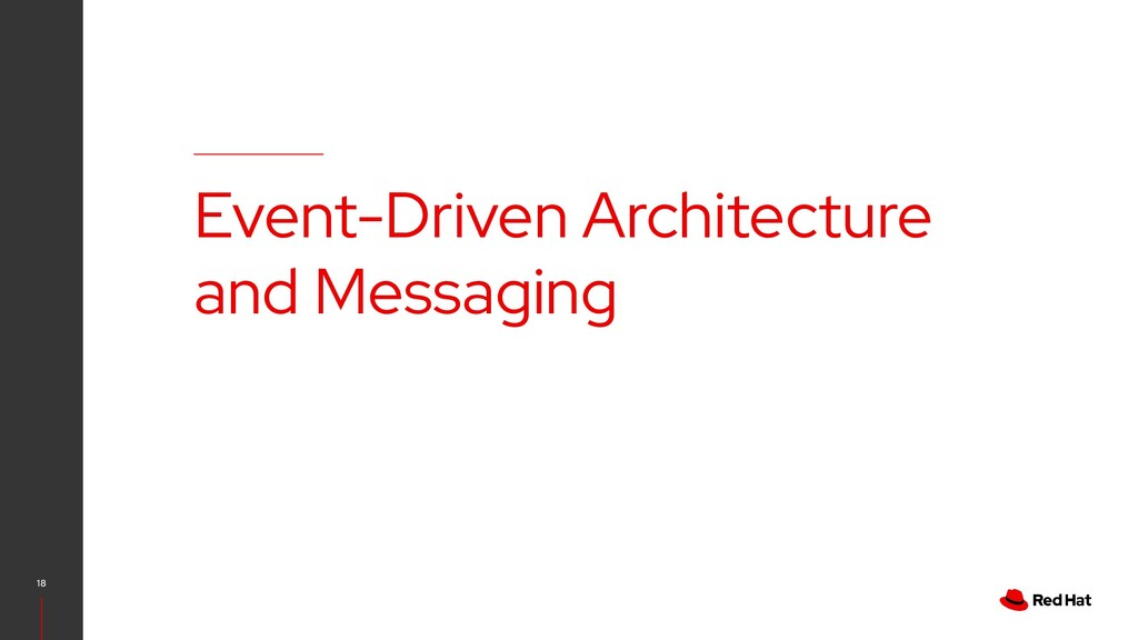 18 Event-Driven Architecture and Messaging