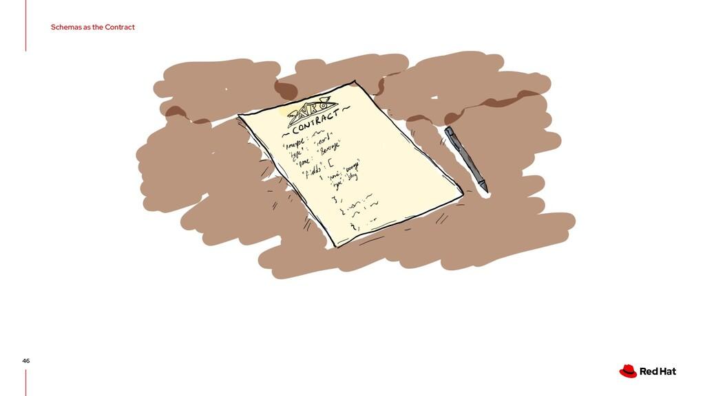 Schemas as the Contract 46
