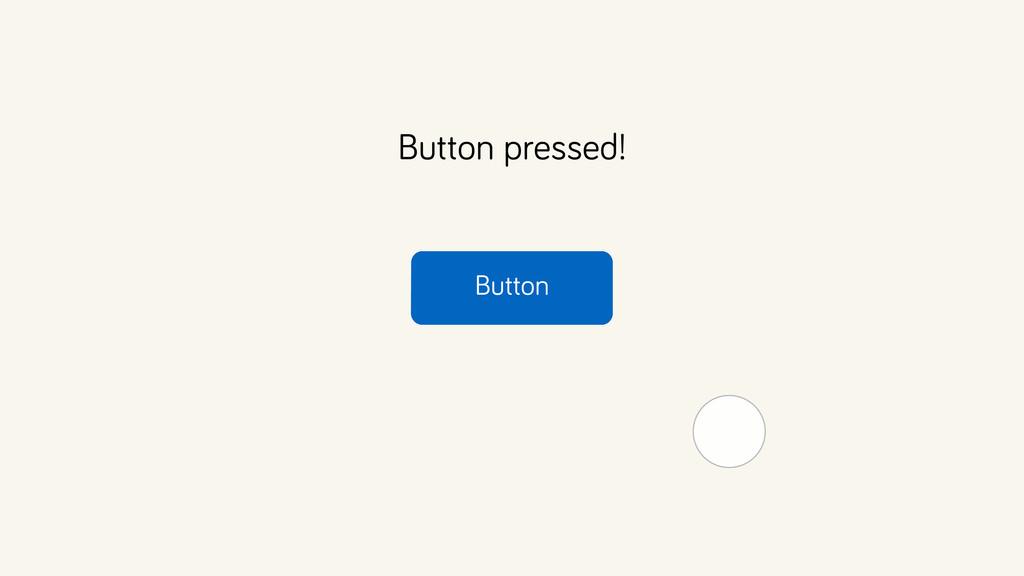 Button Button pressed!