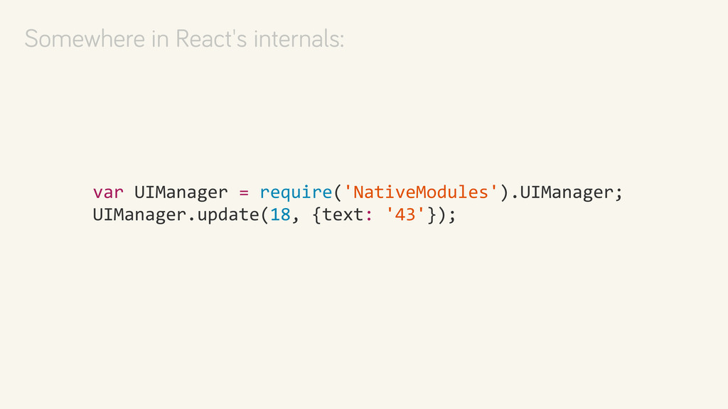 var UIManager = require('NativeModules...