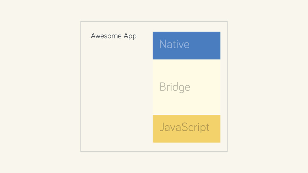 Native Bridge JavaScript Awesome App
