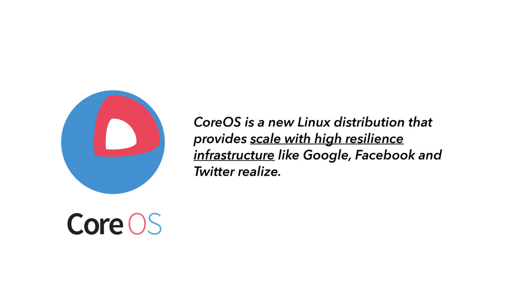 CoreOS is a new Linux distribution that provide...
