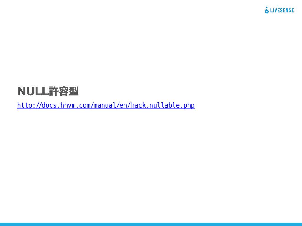 http://docs.hhvm.com/manual/en/hack.nullable.php