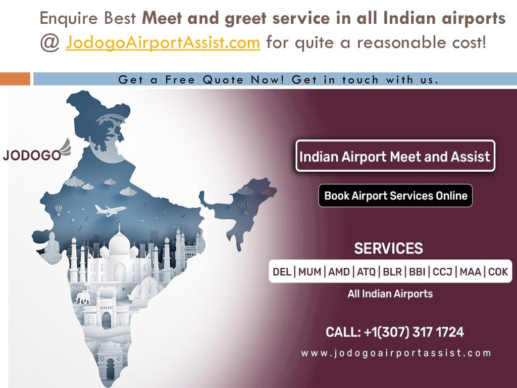 Enquire Best Meet and greet service in all Indi...