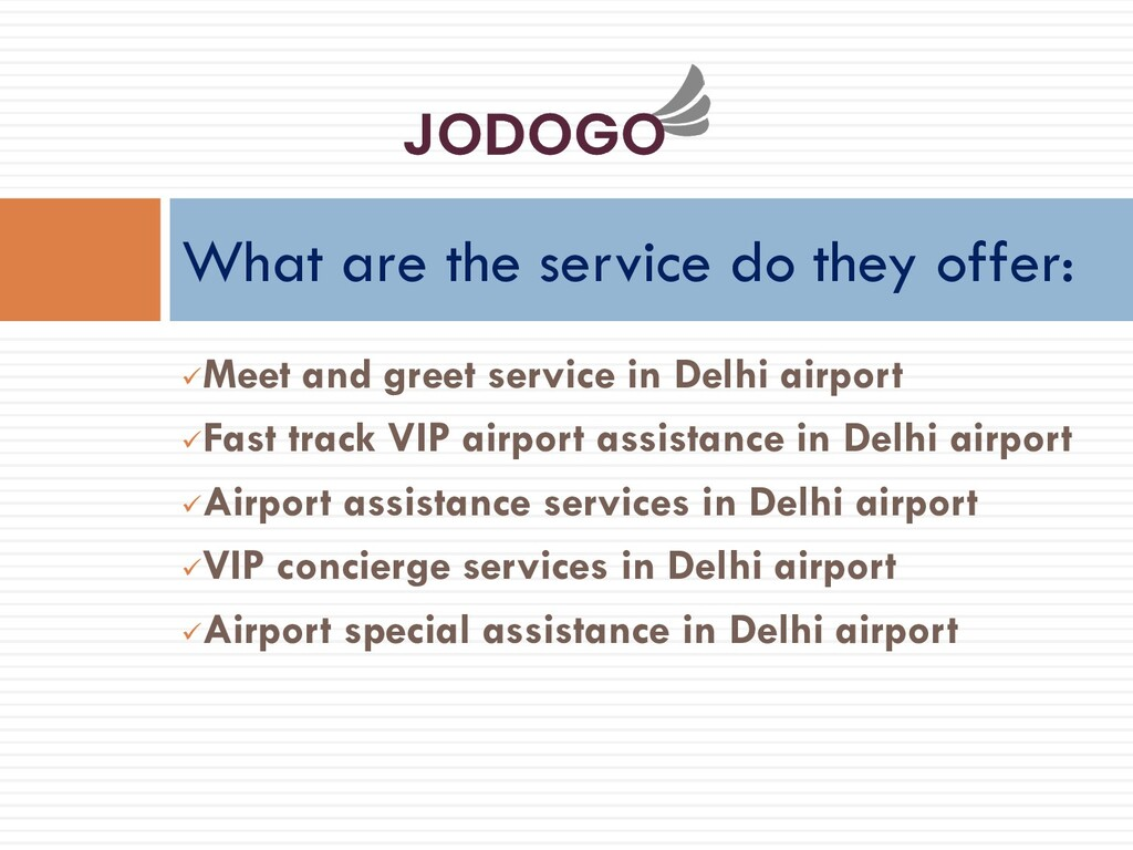 ✓Meet and greet service in Delhi airport ✓Fast ...