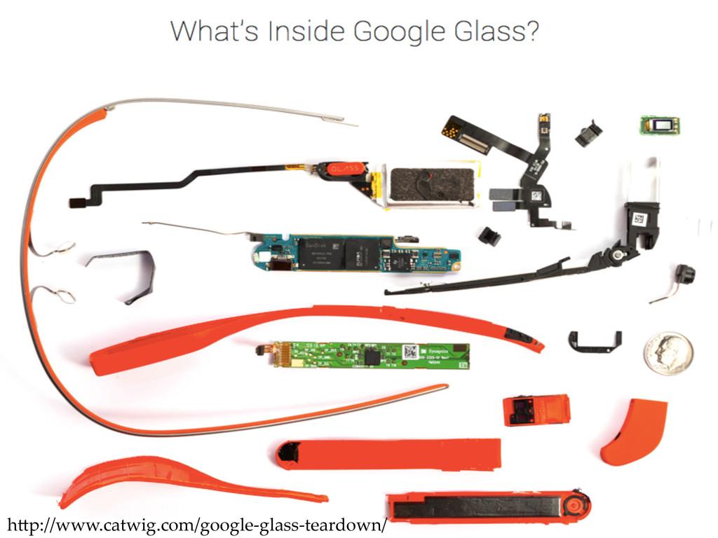 Teardown h9p://www.catwig.com/google-‐‑glass...