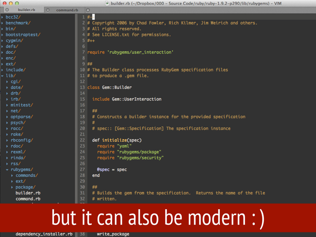 but it can also be modern : )