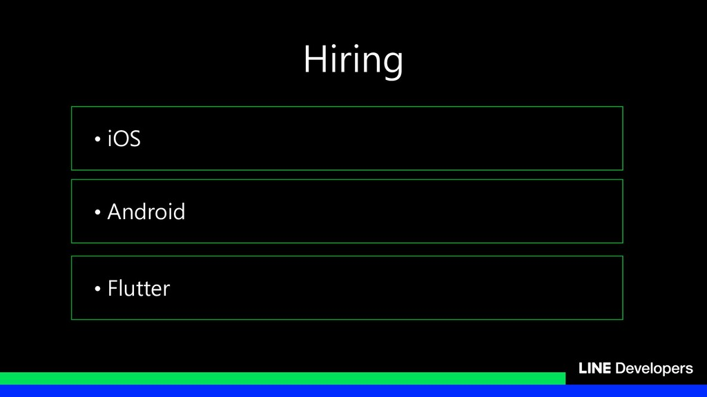 • iOS • Android • Flutter Hiring