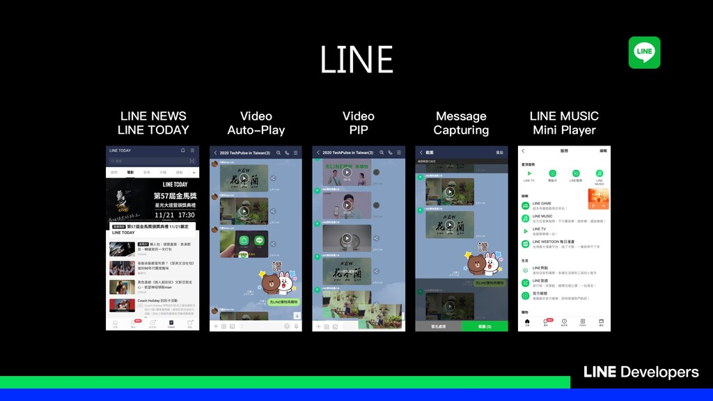 LINE Video Auto-Play Video PIP Message Capturin...