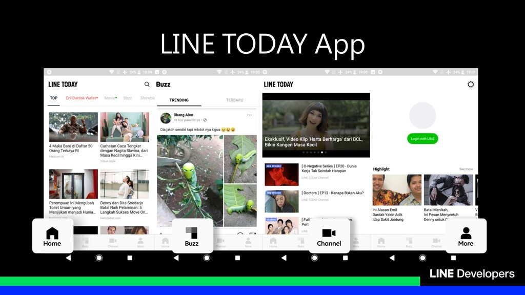 LINE TODAY App
