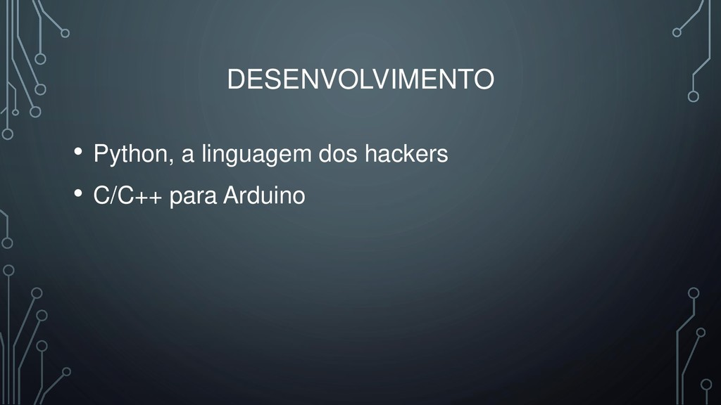 DESENVOLVIMENTO • Python, a linguagem dos hacke...
