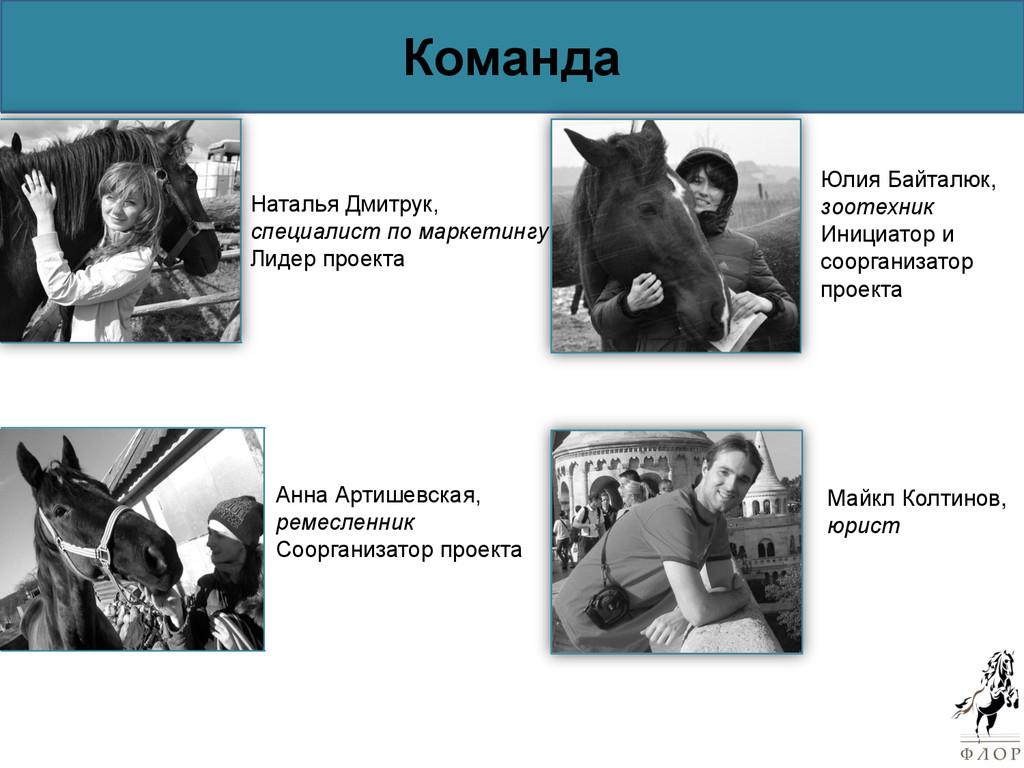 Команда Наталья Дмитрук, специалист по маркетин...