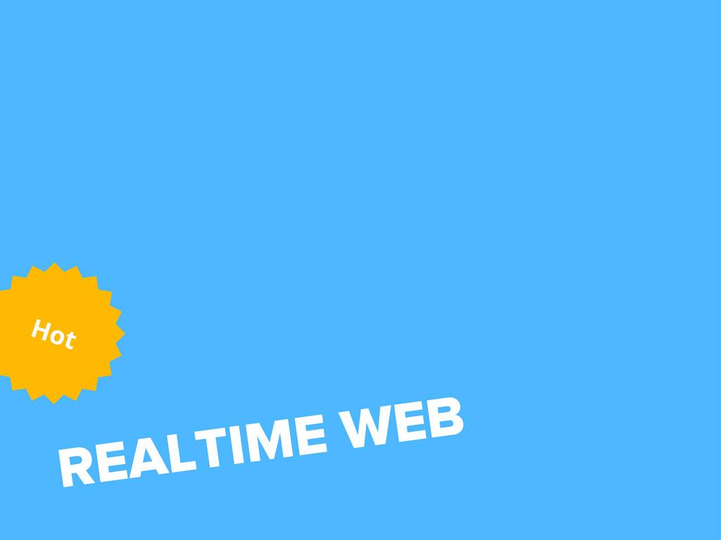 REALTIME WEB Hot