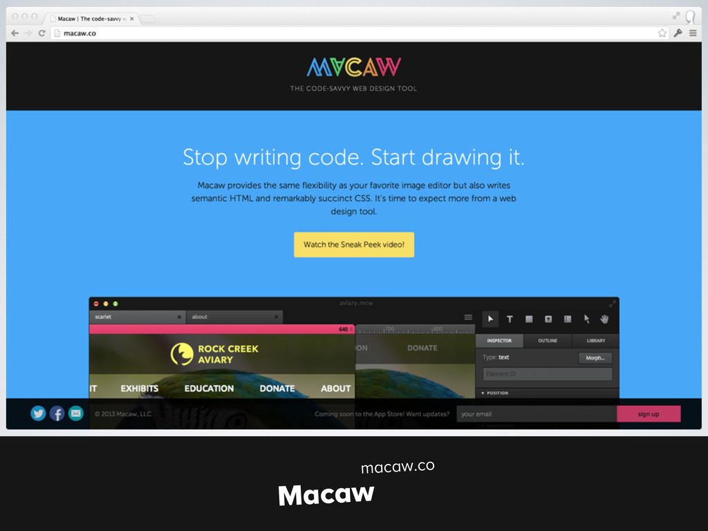 macaw.co Macaw macaw.co