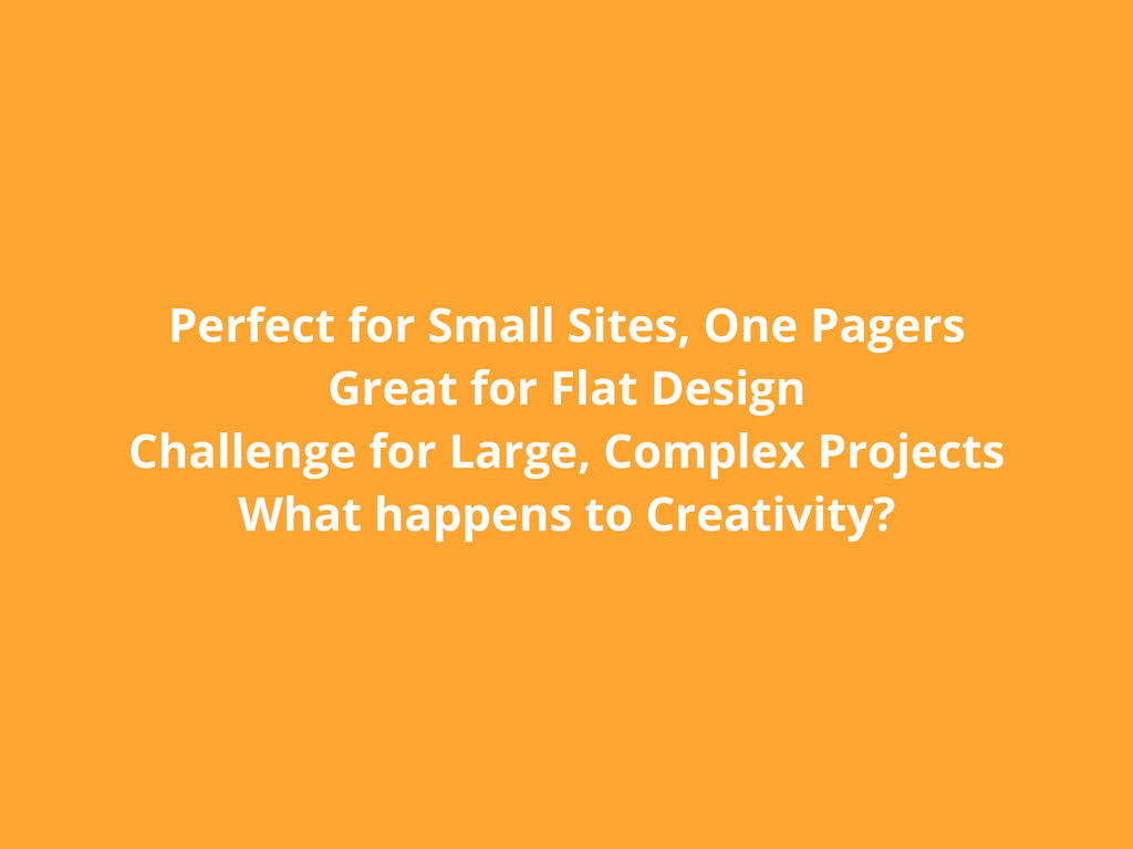 Perfect for Small Sites, One Pagers Great for F...