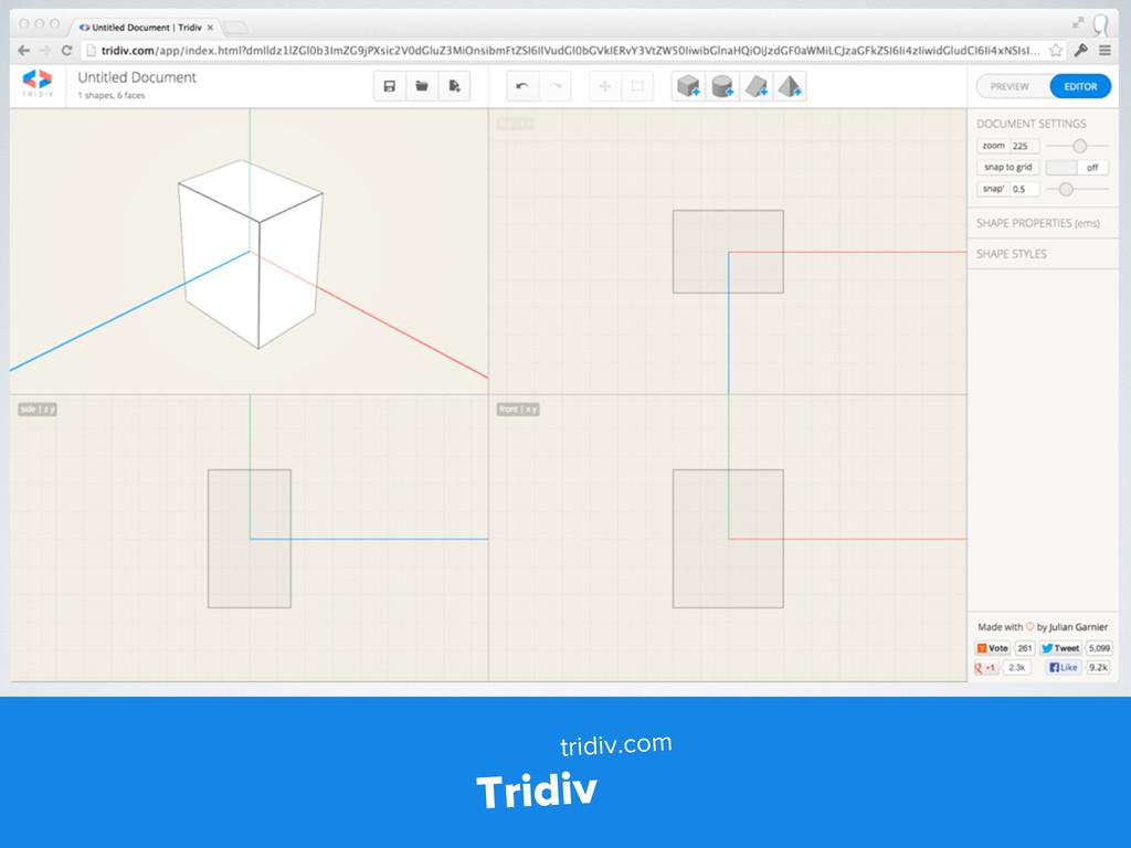 Tridiv tridiv.com