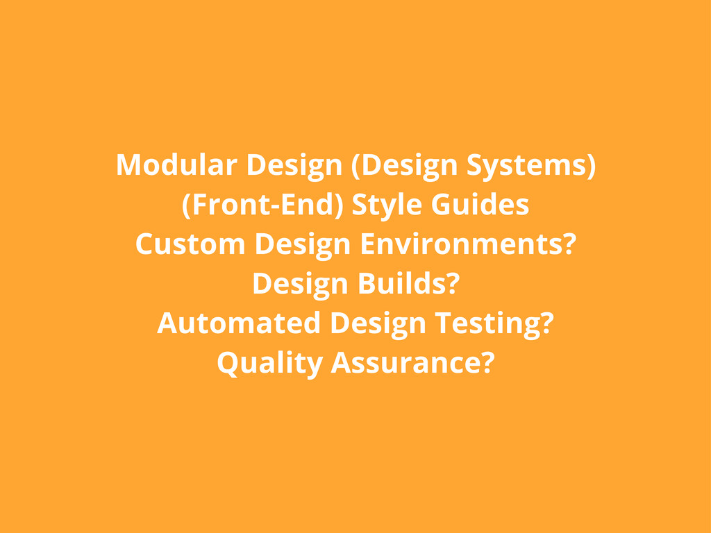 Modular Design (Design Systems) (Front-End) Sty...