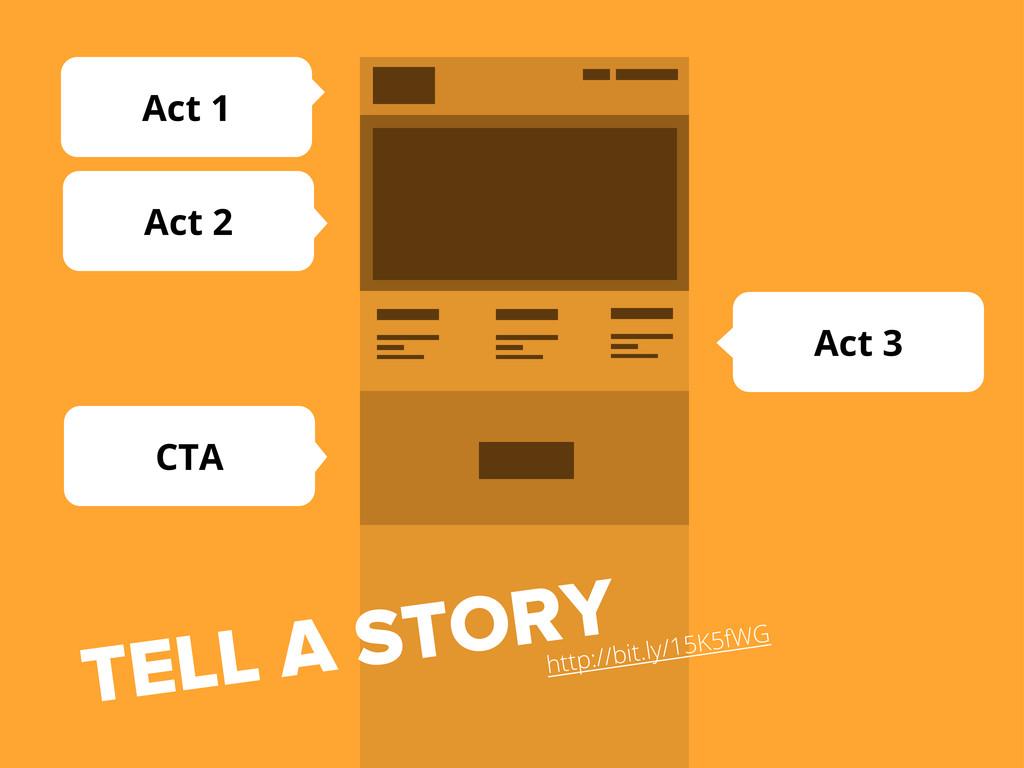 Act 3 CTA Act 2 Act 1 TELL A STORY http://bit.l...