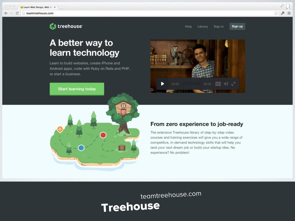 Treehouse teamtreehouse.com
