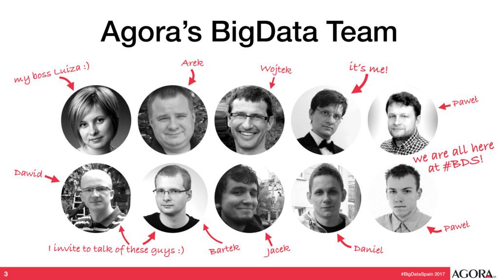 #BigDataSpain 2017 Agora's BigData Team 3 my bo...