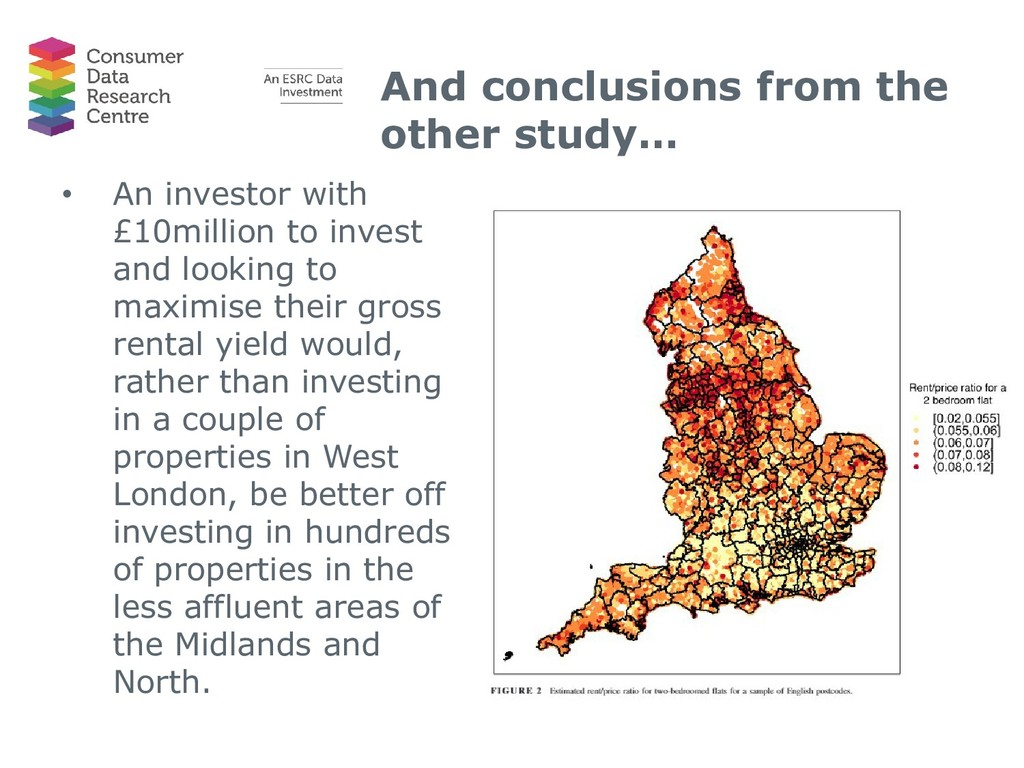 And conclusions from the other study… • An inve...
