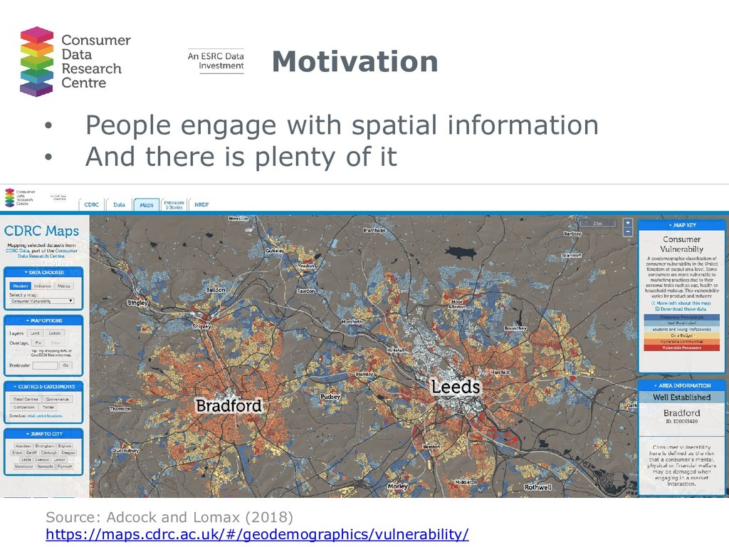 Motivation • People engage with spatial informa...
