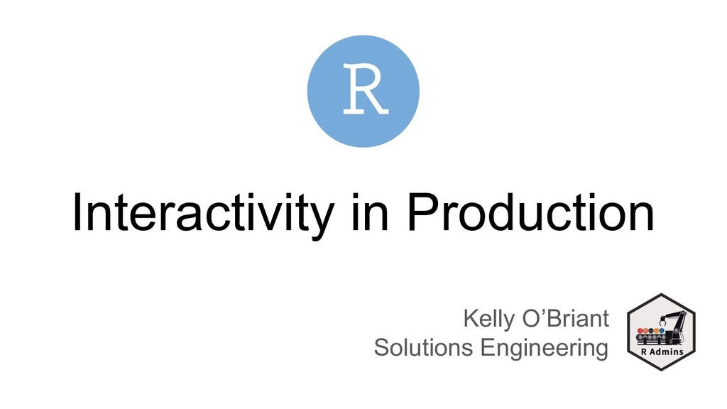 Interactivity in Production Kelly O'Briant Solu...
