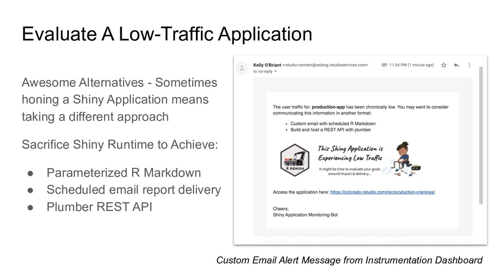 Evaluate A Low-Traffic Application Awesome Alte...