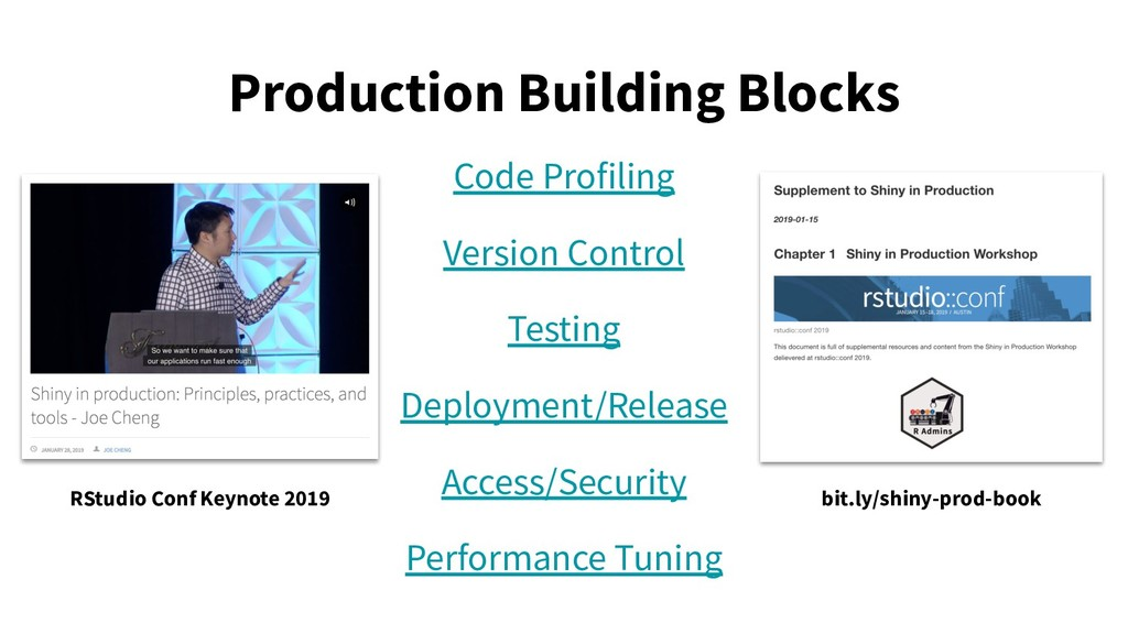 Production Building Blocks Code Profiling Versi...