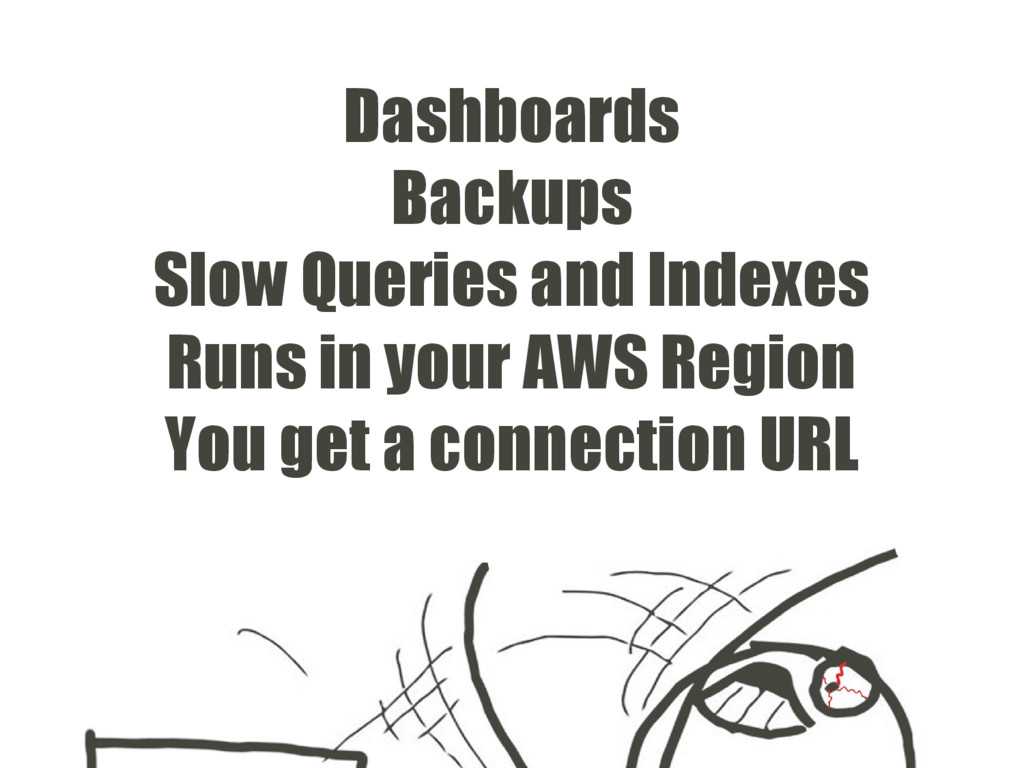 Dashboards Backups Slow Queries and Indexes Run...