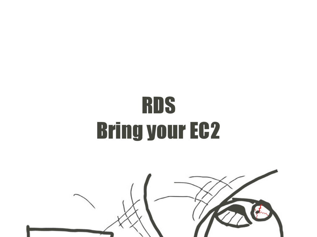 RDS Bring your EC2