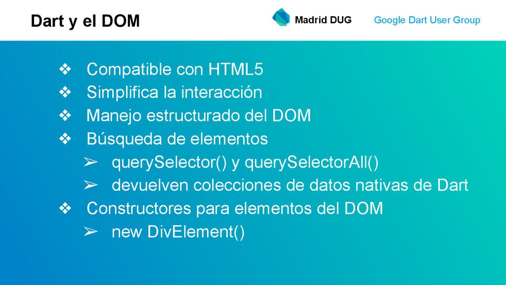 ❖ Compatible con HTML5 ❖ Simplifica la interacc...