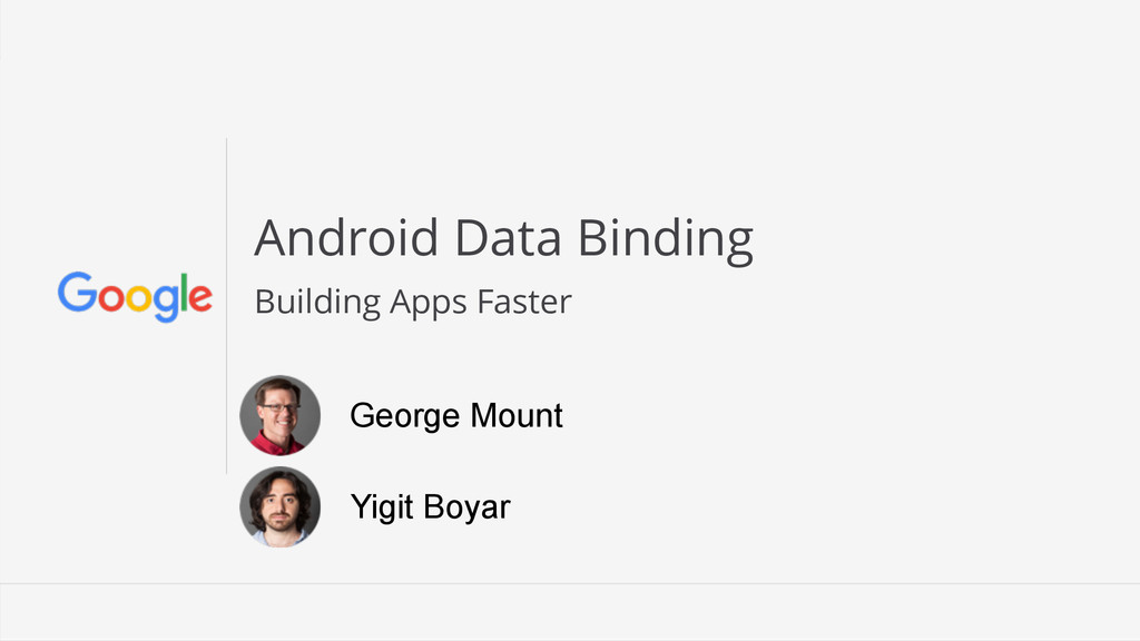 Android Data Binding Building Apps Faster Georg...