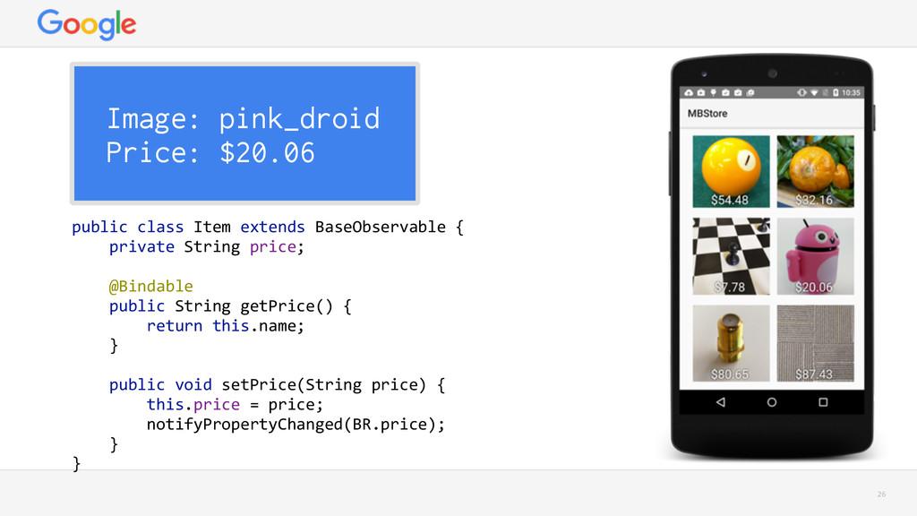 26 Image: pink_droid Price: $20.06 public clas...