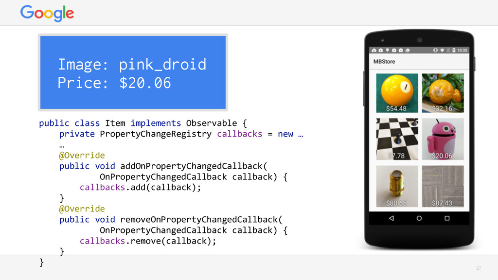 27 Image: pink_droid Price: $20.06 public clas...