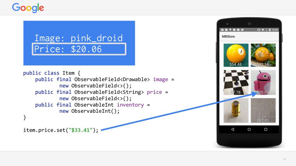 28 Image: pink_droid Price: $20.06 public clas...