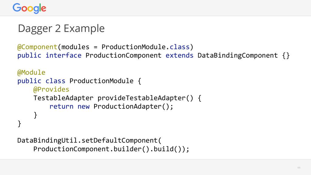 Dagger 2 Example  66 @Component(modules = Pr...