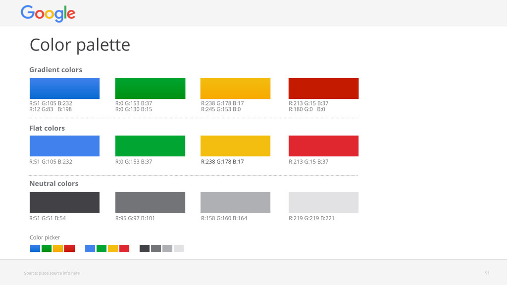 Source: place source info here Color palette 91...