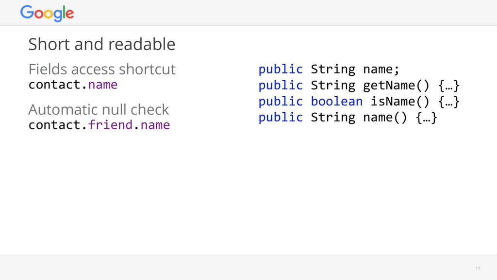 Short and readable 19 Automatic null check cont...