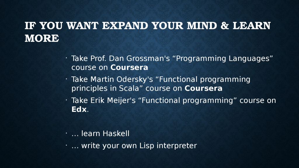 IF YOU WANT EXPAND YOUR MIND & LEARN MORE • Tak...