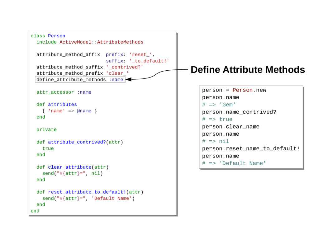 class Person include ActiveModel::AttributeMeth...
