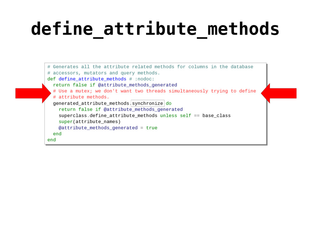 # Generates all the attribute related methods f...